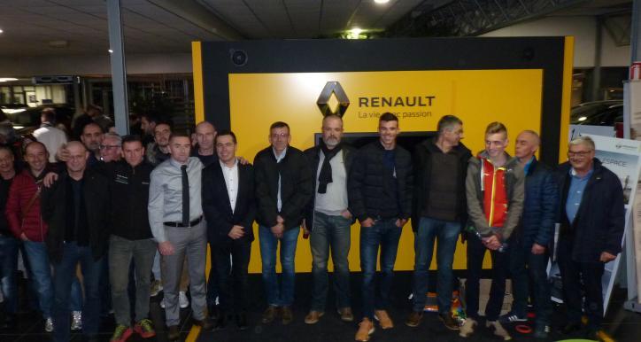 Conférence de presse chez Renault
