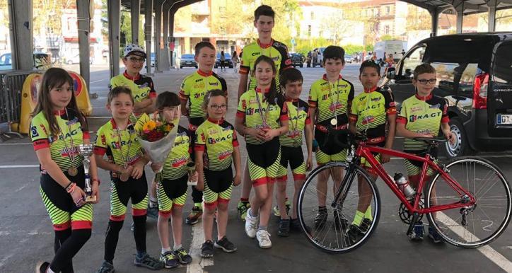 2ème trophée des écoles de cyclisme Occitanie à Albi