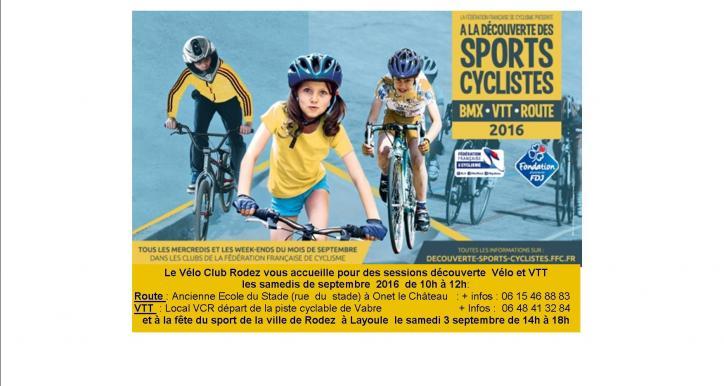 Le cyclisme accueille tous les jeunes à partir de 6 ans