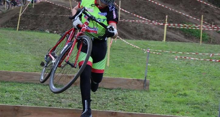 Championnat Midi-Pyrénées de Cyclo cross 4 dec 2016 à Aiguefonde