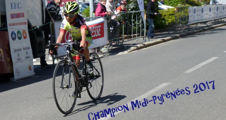 Lukas ALBESPY CHAMPION Midi-Pyrénées 2017 !