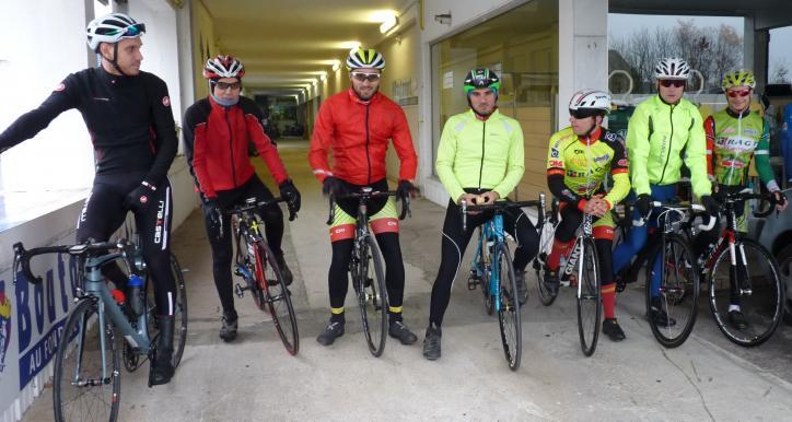 Sortie matinale pour les cyclistes !