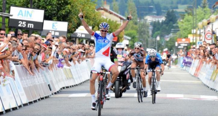 GENIEZ vainqueur  Tour de l'Ain