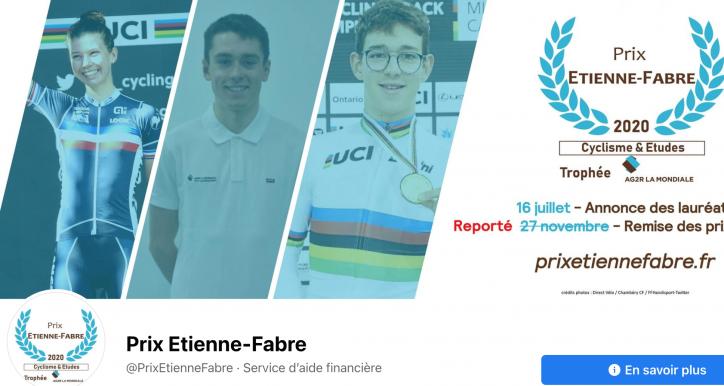 Prix Etienne FABRE 2020