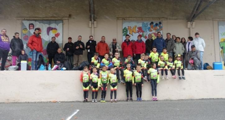 L'école de cyclisme à St JUERY