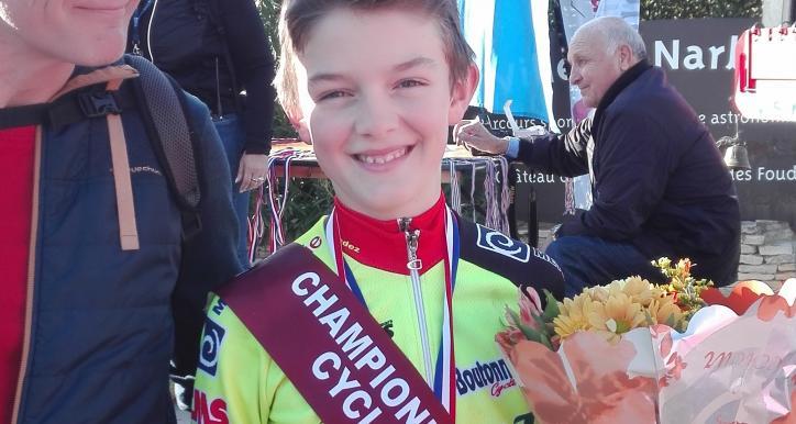 Antoine COLOTTE-NYS, Champion Occitanie Cyclocross chez les benjamins