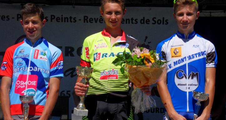 5ème victoire pour Baptiste CASSAN
