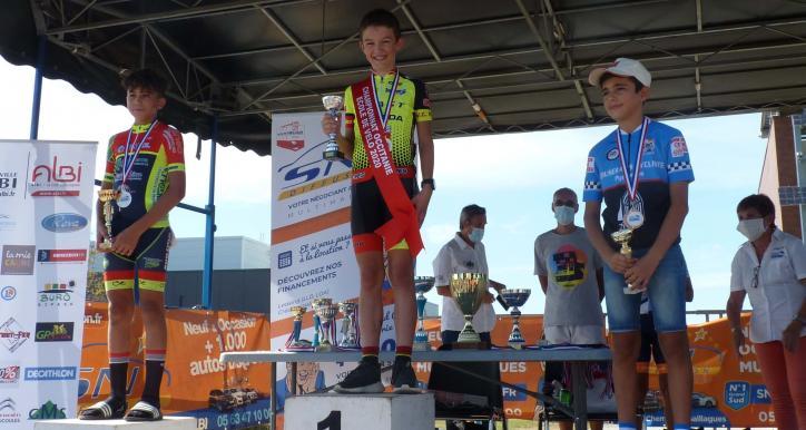 Nouveau titre Champion d'Occitanie pour Antoine COLOTTE NYS