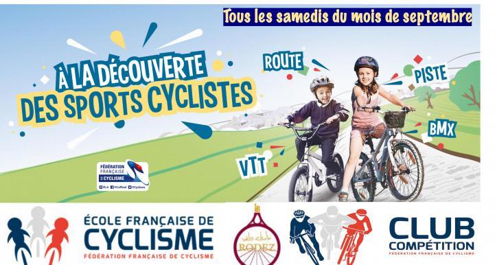 Découverte du cyclisme route et VTT