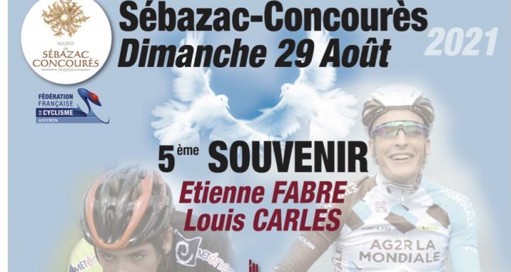5ème Souvenir Louis Carles - Etienne Fabre