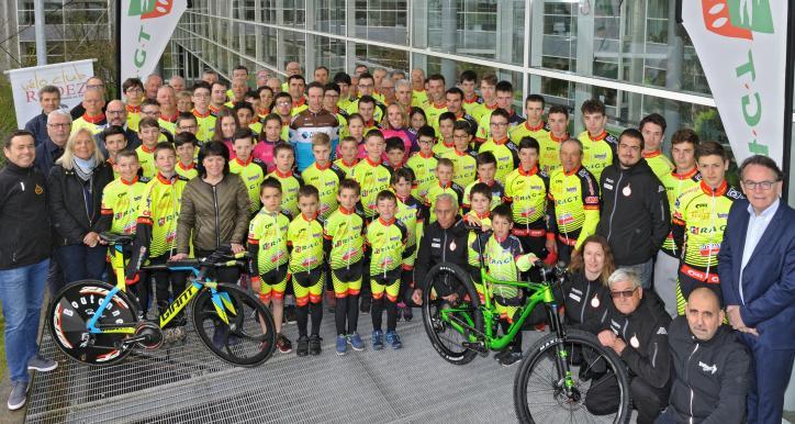 Les cyclistes du VCR 2019