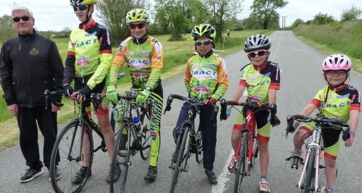 Bon début de saison pour l'école de vélo !