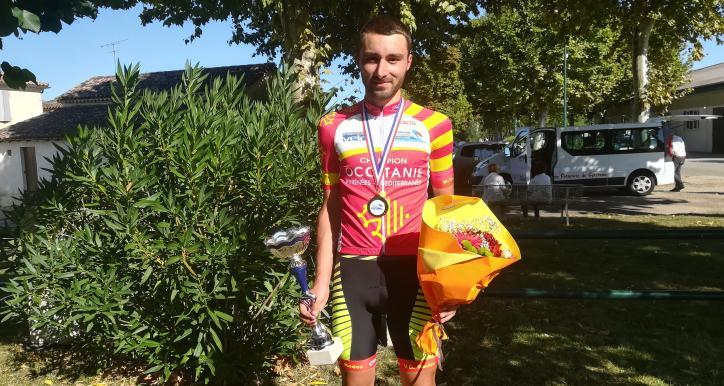 Alex MOLIN PRADEL : Champion d'Occitanie Contre La Montre FFC