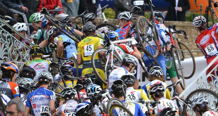 1er Championnat d'Occitanie Cyclocross FFC le 10 12 2017