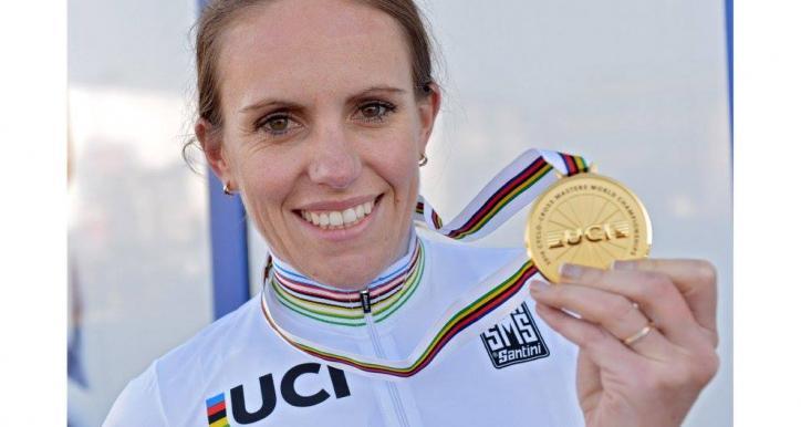 Pauline SABIN TEYSSEDRE Championne du MONDE Master2